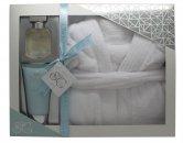 Style & Grace Puro Set de Regalo Definitivo Albornoz Confort 150ml Loción Corporal + 50ml EDP + Albornoz de Baño de Lujo Talla Única