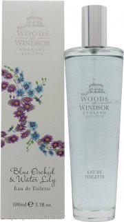 Woods of Windsor Blue Orchid & Water Lily Eau de Toilette 100ml Vaporizador