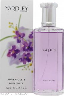 Yardley April Violets Eau de Toilette 125ml Vaporizador