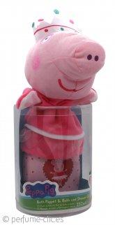 Peppa Pig Peppa Pig Set de Regalo 250ml Baño de Burbujas + Manopla de Baño
