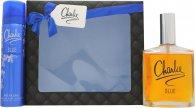Revlon Charlie Blue Eau Fraiche Set de Regalo 100ml EDT + 75ml Desodorante Vaporizador