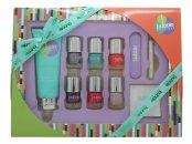 Style & Grace Bubble Boutique Set de Regalo Manicura Perfecta 100ml Crema Manos + 5x8ml Esmaltes Uñas + Lima de Uñas Grande + Fundas + Palo Cutículas