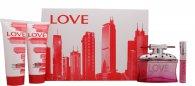 Sex In The City Sex In The City Love Set de Regalo 100ml EDP + 15ml EDP + 150ml Gel de Ducha + 150ml Loción Corporal