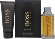 Hugo Boss Boss The Scent Set de Regalo 100ml EDT Vaporizador + 100ml Gel de Ducha