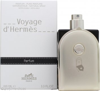 Voyage d'Hermès Pure Perfume 100ml Natural Vaporizador - Rellenable