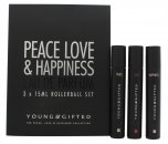 Young & Gifted Set de Regalo 3 x 15ml EDP Bola Perfumante (Peace + Love + Happiness)