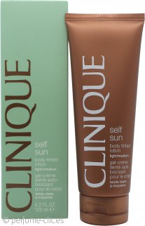 Clinique Self Sun Loción Corporal Tintada Ligera - Media 125ml