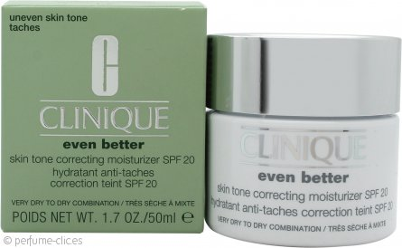 Clinique Even Better Skin Hidratante Corrector de Tono Espectro Amplio FPS 20 50ml