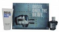 Diesel Only The Brave Set de Regalo 75ml EDT + 150ml Gel de Ducha
