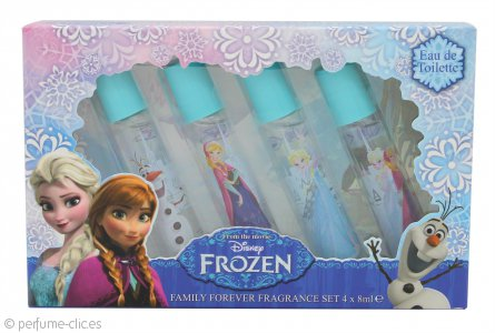 Disney Frozen Set de Regalo Eau de Toilette 4 x 8ml Roll On