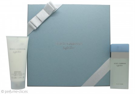 Dolce & Gabbana Light Blue Set de Regalo 50ml EDT + 100ml Crema Corporal