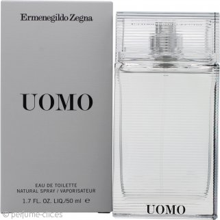 Ermenegildo Zegna Uomo Eau de Toilette 50ml Vaporizador