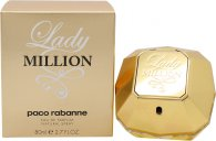 Paco Rabanne Lady Million Eau de Parfum 80ml Vaporizador