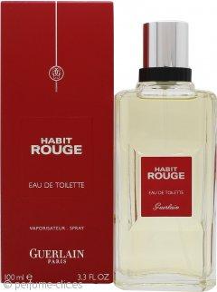 Guerlain Habit Rouge Eau De Toilette 100ml Vaporizador