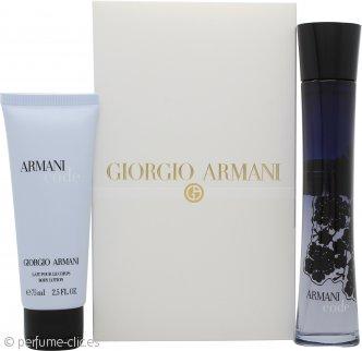 Giorgio Armani Code Set de Regalo 75ml EDP + 75ml Loción Corporal