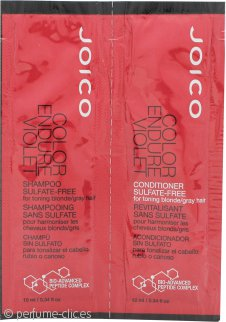 Joico Color Endure Violet Foils Set de Regalo 10ml Champú + 10ml Acondicionador