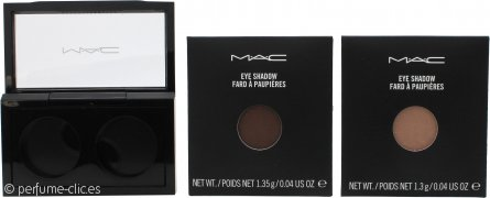 MAC Pro Palette Pro Colour Eyeshadow Set 2 x 1.3g Recambio - All That Glitters + Browns Down