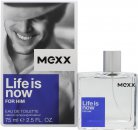 Mexx Life Is Now for Him Eau de Toilette 75ml Vaporizador
