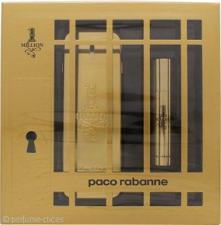 Paco Rabanne 1 Million Set de Regalo 100ml EDT + 10ml Vaporizador de Viaje