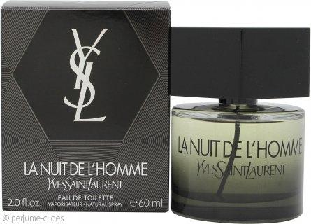 Yves Saint Laurent La Nuit de L'Homme Eau de Toilette 60ml Vaporizador