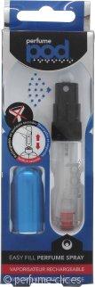 perfumepod Refillable Perfume Atomizer Atomizador 5ml - Blue