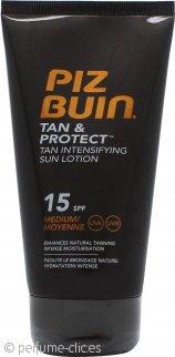 Piz Buin Tan & Protect Loción Solar Intensa 150ml FPS 15