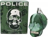 Police To Be Camouflage Eau de Toilette 125ml Vaporizador