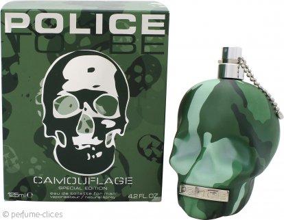 Police To Be Camouflage Eau de Toilette 125ml Vaporizador