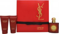 Yves Saint Laurent Opium Set de Regalo 30ml EDT + 50ml Gel de Ducha + 50ml Loción Corporal
