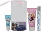 Disney Frozen Set de Regalo 9ml Bola Perfumada + 25ml Baño Burbujas + Brillo Labios