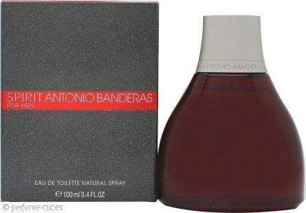 Antonio Banderas Spirit Eau de Toilette 100ml Vaporizador
