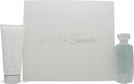 Samantha Faiers Pure Set de Regalo 100ml EDP + 150ml Loción Corporal Brillo