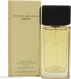 DKNY Gold Sparkling Eau de Toilette 50ml Vaporizador