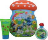 The Smurfs Grouchy Set de Regalo 50ml EDT + 75ml Baño Burbujas