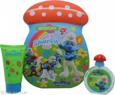 The Smurfs Grouchy Set de Regalo 50ml EDT + 75ml Baño Burbujas