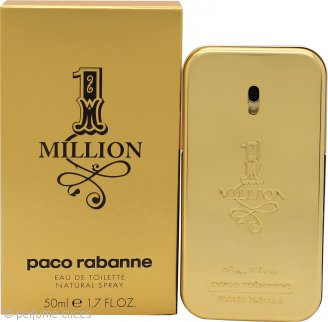 Paco Rabanne 1 Million Eau De Toilette 50ml Vaporizador