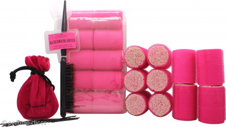 Sleep In Rollers Glow In The Dark Set de Regalo 20 Pinzas + Cepillo