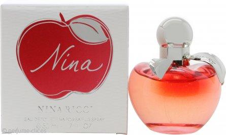 Nina Ricci Nina Eau de Toilette 50ml Vaporizador - Les Belles de Nina