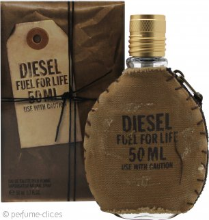 Diesel Fuel For Life Eau de Toilette 50ml Vaporizador