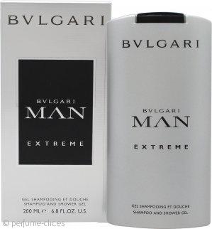 Bvlgari Man Extreme Champú y Gel de Ducha 200ml