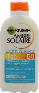 Garnier Ambre Solaire Loción Protección Solar Ligera y Sedosa 200ml SPF50