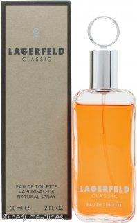 Karl Lagerfeld Lagerfeld Classic Eau de Toilette 60ml Vaporizador