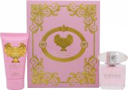 Versace Bright Crystal Set de Regalo 30ml EDT + 50ml Loción Corporal