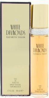 Elizabeth Taylor White Diamonds Eau de Toilette 50ml Vaporizador