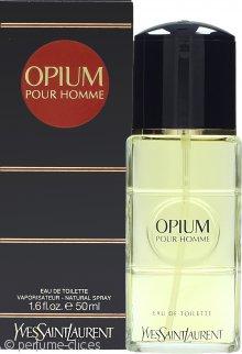 Yves Saint Laurent Opium for Men Eau de Toilette 50ml Vaporizador