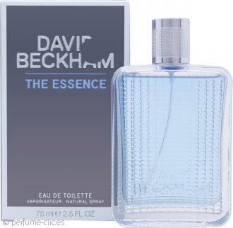 David Beckham The Essence Eau de Toilette 75ml Vaporizador