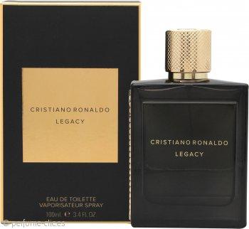 Cristiano Ronaldo Legacy Eau de Toilette 100ml Vaporizador