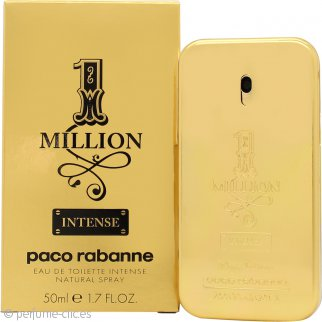 Paco Rabanne 1 Million Intense Eau de Toilette 50ml Vaporizador