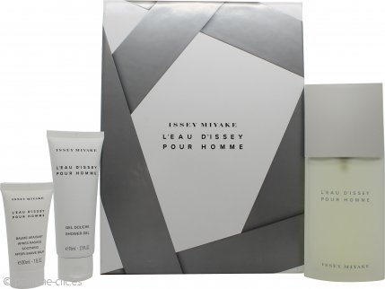 Issey Miyake L'Eau d'Issey Pour Homme Set de Regalo 125ml EDT + 75ml Gel de Ducha + 30ml Bálsamo Aftershave