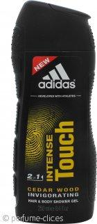 Adidas Intense Touch Gel de Ducha 2 en 1 Pelo y Cuerpo 250ml